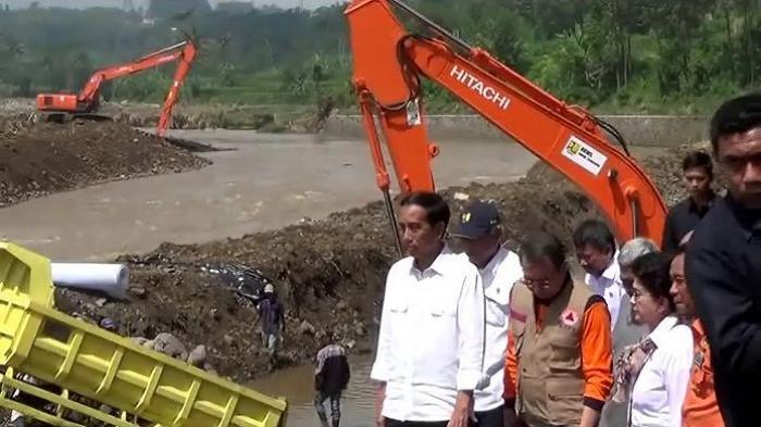 Jokowi Minta Penegak Hukum Usut Kerusakan Hulu Cimanuk