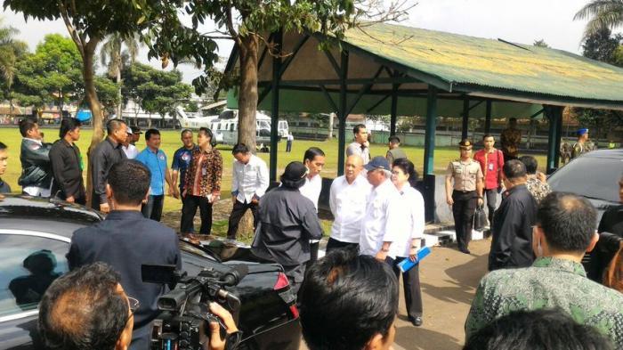 Presiden Jokowi Minta RSU dr. Slamet Dipindahkan