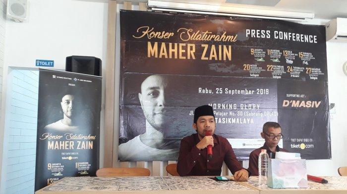 Maher Zain Akan Konser di Tasikmalaya Bulan November, Ada Sabyan Juga