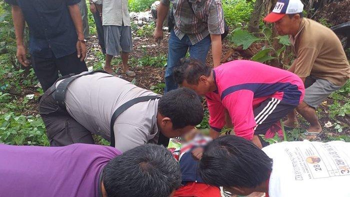 BREAKING NEWS, Seorang Pria di Majalengka Tewas Gantung Diri di Pohon Jati