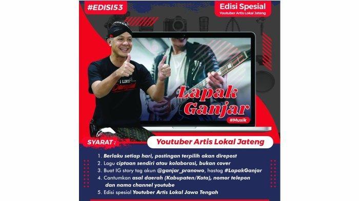 Prihatin Nasib Seniman Musik Jateng, Ganjar Pranowo Bikin Gebrakan 'Lapak Ganjar Musik'