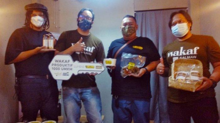 Dukung Program 1000 UMKM, Wakaf Salman Berdayakan Tiga Pelaku Usaha Lokal