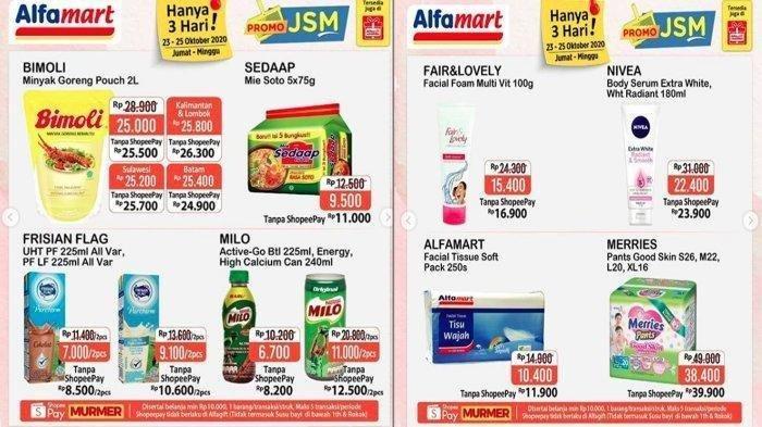 Katalog Promo Jsm Alfamart Hari Ini 24 Oktober Diskon Susu Cemilan Dan Detergen Belanja Hemat Tribun Jabar