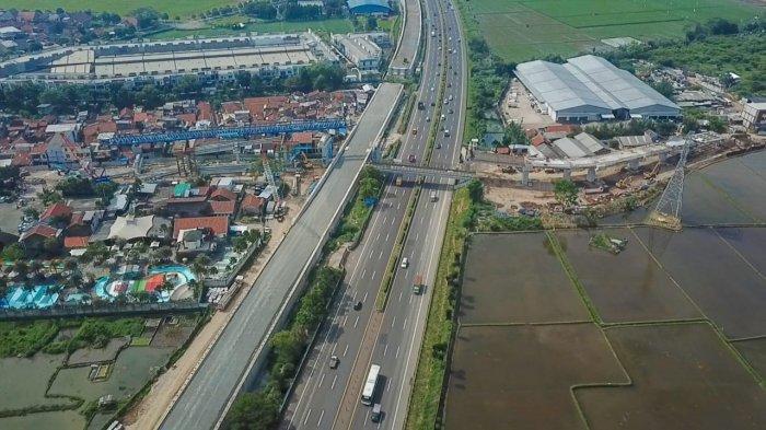 Ada Pekerjaan KCIC di Atas Jalan Tol Padaleunyi, Jasa Marga Lakukan Pengaturan Lalu Lintas