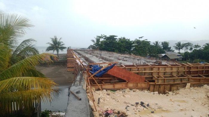 Sempat Ambrol, Proyek Jembatan Cikidang Mangkrak, DPUTRPRKP Pangandaran Pilih Putus Kontrak