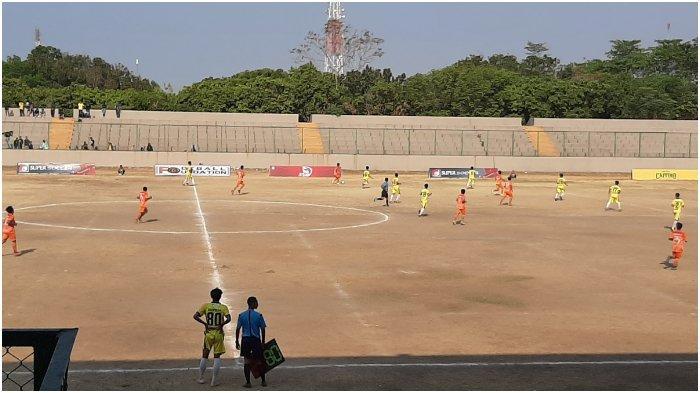 Babak Pertama Selesai, PS Gunung Jati Cirebon Ungguli Prima Con FC 1-0