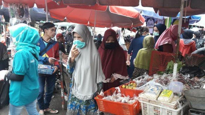 Dianggap Kurang Efektif dan pengaruhi Pengunjung, Pedagang Pasar Pertanyakan Urgensi Pedulilindungi