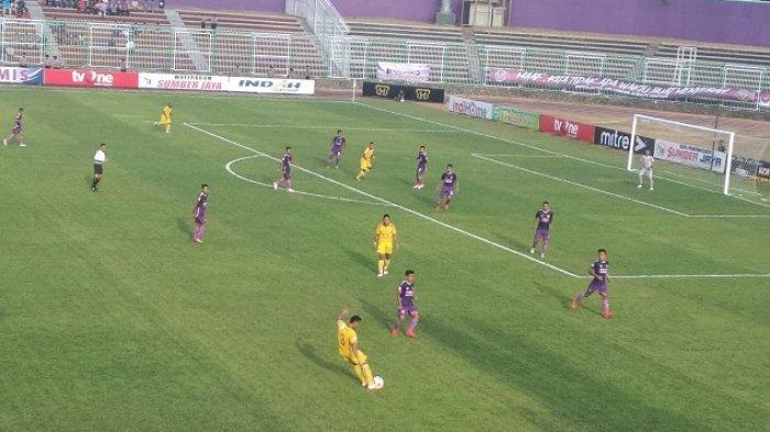 HASIL LIGA 2 PSGC Ciamis Dipermalukan Sriwijaya FC di Kandang Sendiri