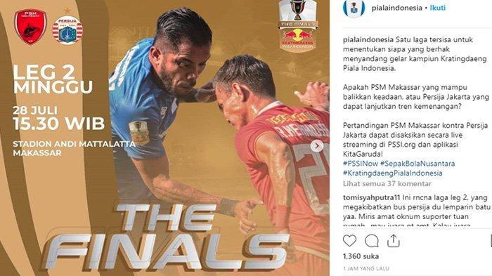 Kala PSM Makassar dan Pendukungnya Meradang, Tim Tamu Ogah Main, Suporter Kritik PSSI & Persija
