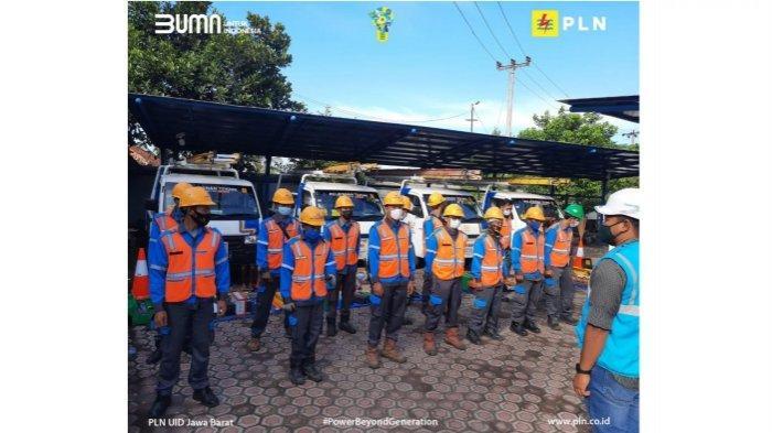PT PLN UP3 Cianjur Gelar Peralatan dan Gelar Pasukan Pelayanan Teknik, Amankan Pasokan Listrik