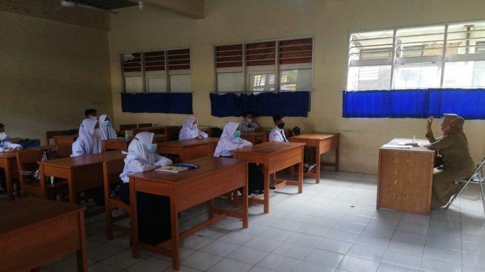 Belajar Tatap Muka di Dua SD Dihentikan, Dua Guru Positif Covid, Ketahuan Saat Seleksi PPPK