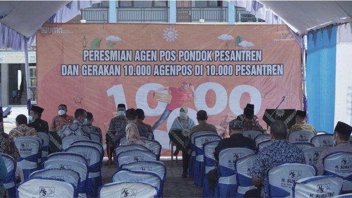 PT Pos Indonesia (Persero) mulai menggencarkan penetrasi program Agen Pos di pesantren dengan menyasar sejumlah basis pesantren di daerah. Program ini sebagai komitmen Pos Indonesia mendorong terbentuknya ekonomi kerakyatan