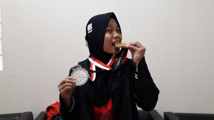 Puji Lestari, Peraih Medali Emas Asian Games, Kenal Panjat Tebing saat Kuliah Semester 2