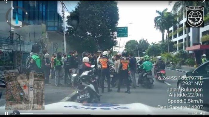 Aksinya Tak Patut Dicontoh, Driver Ojol Malah Pukuli Petugas Saat Diimbau Tak Berkerumun