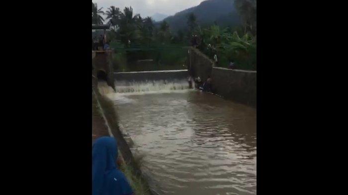 Bercanda Pura-pura Tenggelam, Seorang Remaja di Cianjur Tewas Terseret Arus Sungai