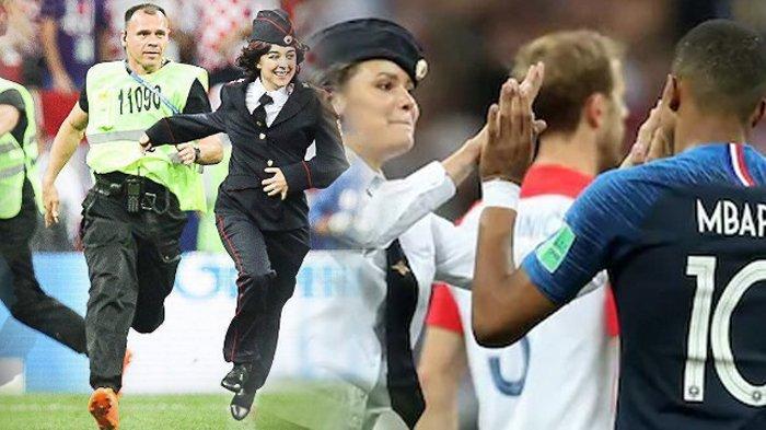 5 Fakta di Balik Aksi Penyusup Pussy Riot di Partai Final Piala Dunia 2018, Buat Dejan Lovren Berang