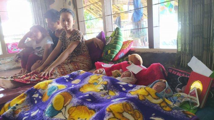 Ibu Muda di Sukabumi Lahirkan Bayi Kembar Tiga, Apa Tips dan Triknya? Ini Kata Sang Suami