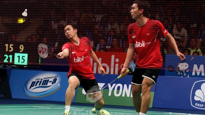 Marcus Gideon/Kevin Sanjaya Tumbang, Ini Wakil Indonesia yang Tersisa di Kejuaraan Dunia BWF 2019