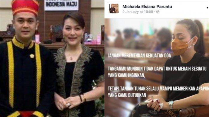 Quote Michaela Paruntu, istri James Arthur Kojongian Wakil Ketua DPRD Sulut.