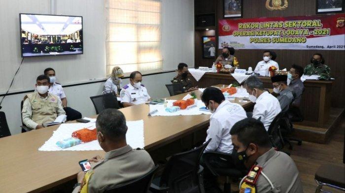 Polisi Matangkan Titik Penyekatan Pemudik di Sumedang, Ada 12 Titik yang Akan Dijaga 550 Personel
