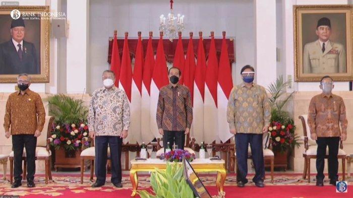 Presiden Joko Widodo dalam Rapat Koordinasi Nasional (Rakornas) Pengendalian Inflasi Tahun 2021