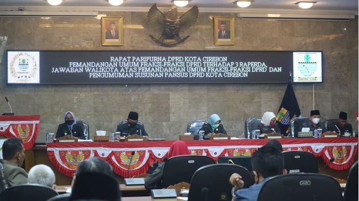 DPRD Bentuk Pansus Tiga Raperda Usulan Pemkot Cirebon, Berikut Raperda yang Akan Dibuatnya
