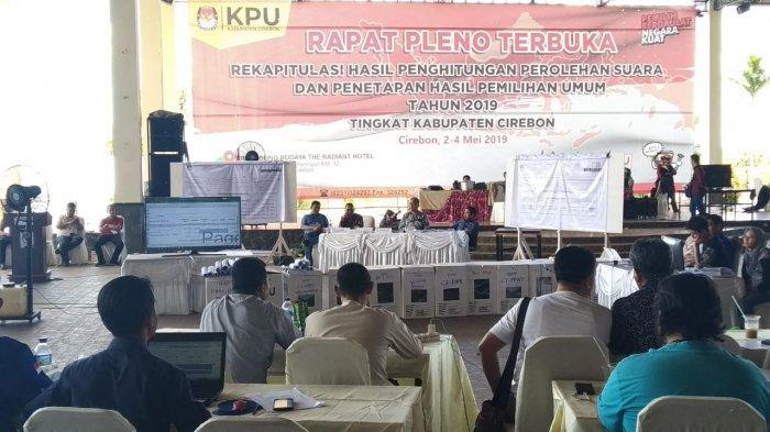 Rapat Pleno Rekapitulasi Kabupaten Cirebon Selesai Hari Ini, KPU Akui Ada Keterlambatan