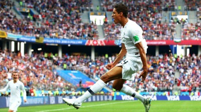 Cetak Gol ke Gawang Uruguay, Raphael Varane Masuk Jajaran Elite Pemain Prancis