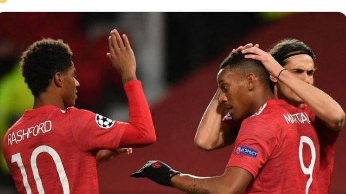 Susunan Pemain Manchester United Vs Arsenal Dan Live Streaming Tv Bersama Di Mola Tv Sesaat Lagi News Tribunku Apps