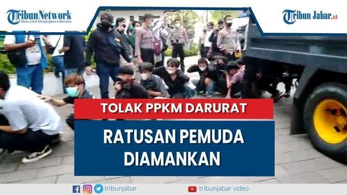 Pemuda Bawa Bom Molotov saat Demo Tolak PPKM di Bandung Diperiksa Polisi, Masih Di Bawah Umur