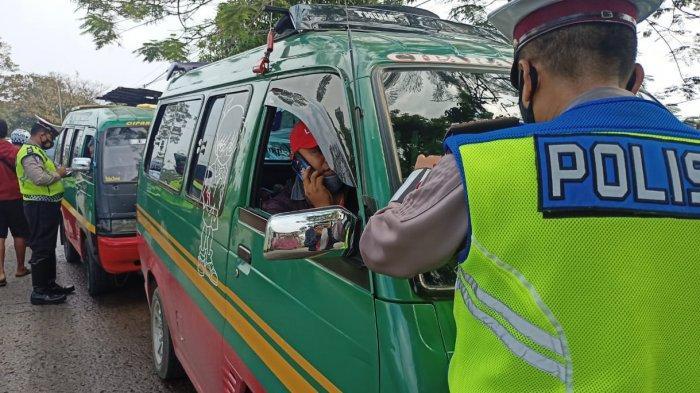 Buntut Angkot Maut di Bandung, Polisi dan Dishub Gelar Razia, Lima Angkot Diamankan, Ini Alasannya