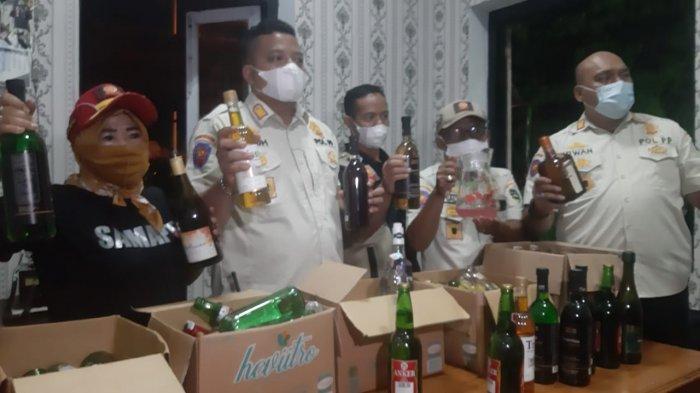 Menjelang Ramadan, Tim Gabungan Berhasil Temukan Ratusan Botol di Kafe