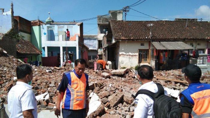 Reaktivasi Jalur Kereta Api Cibatu-Garut, Sudah 90 Persen Bangunan Dibongkar, Usai Idulfitri Rampung