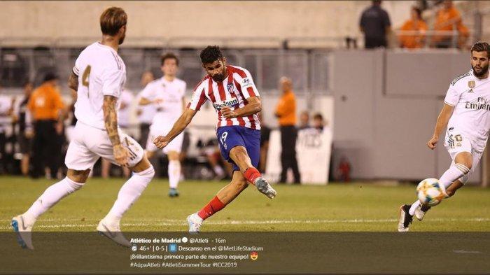 Penentuan Juara Liga Spanyol Real Madrid dan Atletico Madrid, El Real Minta Bantuan Tim Degradasi