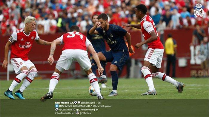 SEDANG Berlangsung, Link Live Streaming dan Susunan Pemain Arsenal vs Southampton, Ozil Jadi Andalan