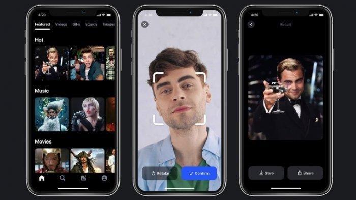 Cara Bikin Foto Bernyanyi Pakai Reface App, Aplikasi yang Lagi Booming, Buat Foto Jadi Bergerak