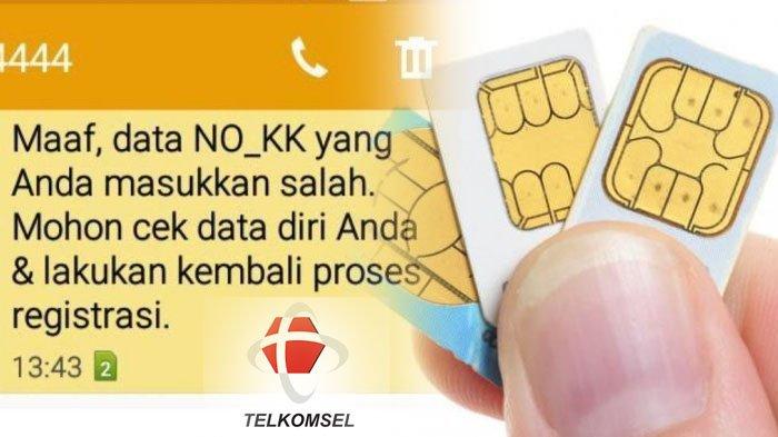 Nomor Kk Dan Nik Anda Dipakai Orang Lain Untuk Registrasi Sim Card Langsung Blokir Ini Caranya Tribun Jabar