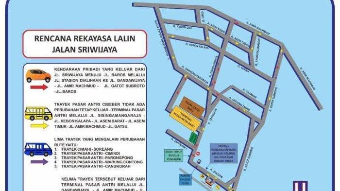 Bingung Dengan Penutupan Jalan Sriwijaya? Ini Dia Rekayasa Jalan yang Diterapkan di Cimahi