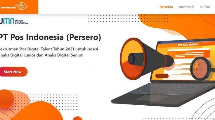 Lowongan Kerja BUMN Terbaru Juli 2021, Pos Indonesia Buka Rekrutmen Post Digital Talent, Cek di Sini
