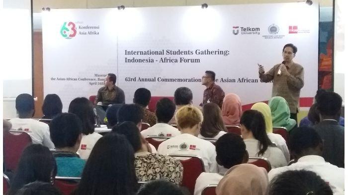 Peringati KAA Ke-63, Pelajar dan Mahasiwa Asing Antusias Ikuti International Students Gathering