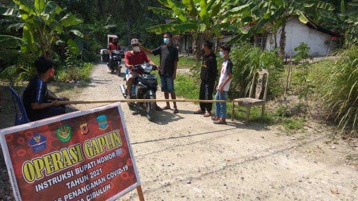 Anak Sekolah di Pangandaran Ikut Jaga di Cek Poin, Beri Edukasi Prokes, Agar Bisa Cepat Sekolah