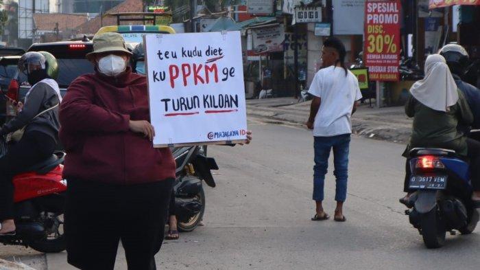 remaja Majalaya kritisi PPKM