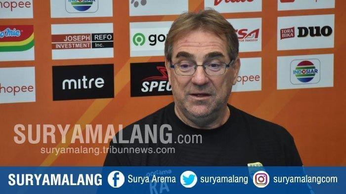 Pelatih Persib Robert Rene Alberts Kenang Catatan Manis Bawa Arema FC Juara