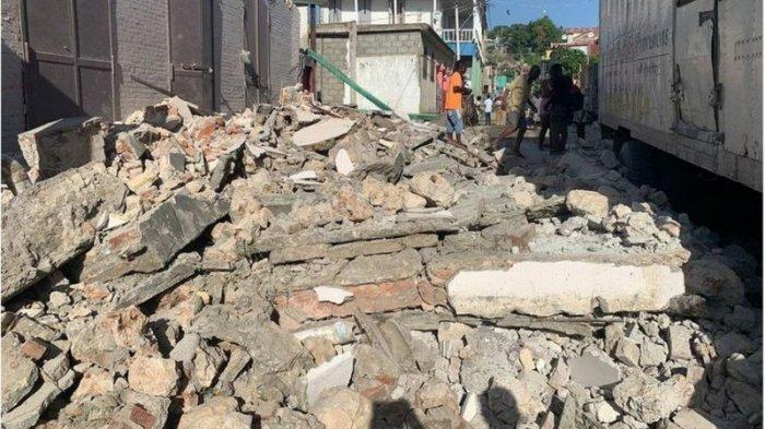Gempa Bumi 7,2 M di Haiti, Kota-kota hancur, Lebih 2.000 Meninggal, Warga yang Selamat Kelaparan