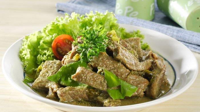 Resep Daging Sapi Ungkep Melinjo Rawit