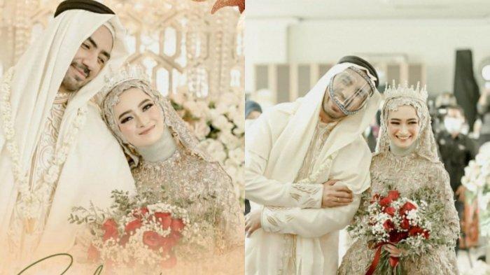 Reza DA Resmi Menikah, Ijab Kabul Berbahasa Arab, Pakai Gamis Bak Pria Arab, Begini Potretnya