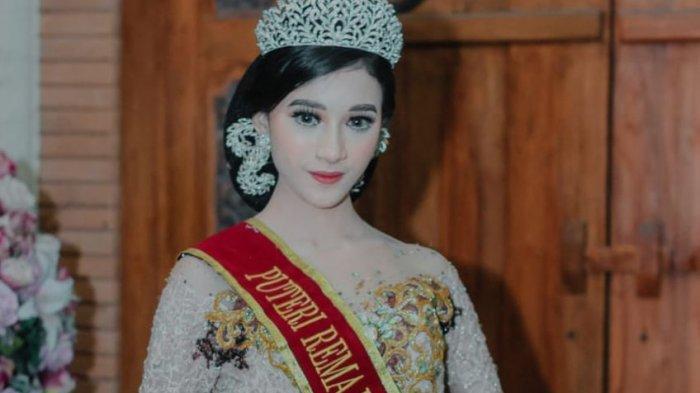 Rhaisya Candrika , Gadis Cantik Juara Putri Remaja Purwakarta yang Mengidolakan Maudy Ayunda b