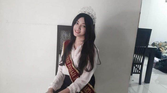 Ini Dia Rhaisya Candrika Gadis Cantik Juara Putri Remaja Purwakarta, Mengaku Sempat Tak Percaya Diri