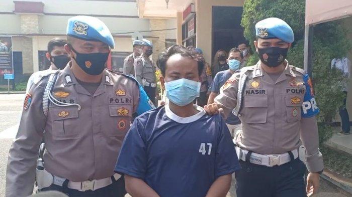 Pelaku Penusukan Istrinya Sendiri yang Videonya Viral Akhirnya Ditangkap, Sempat Kabur ke Garut