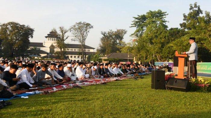 Salat Idul Fitri Boleh Dilakukan Asal Penuhi Syarat Ini, Bagaimana dengan Kondisi di Jawa Barat?